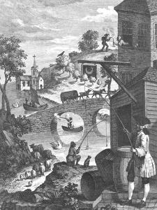 The Importance of Knowing Perspective, 18th Century by William Hogarth
