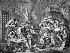 The Rake's Progress by William Hogarth