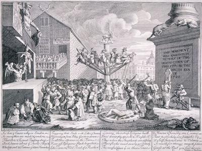 The South Sea Bubble, 1721