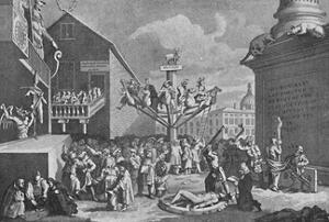 'The South Sea Bubble, from a print by William Hogarth', 1721, (1904) by William Hogarth