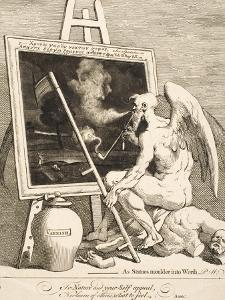 Time Smoking a Picture, March 1761 by William Hogarth