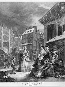 Times of the Day, Morning, 1738 by William Hogarth
