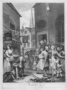 Times of the Day, Noon, 1738 by William Hogarth