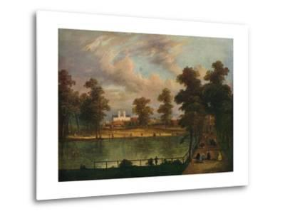 View in St. Jamess Park Showing Rosamonds Pond, 1840