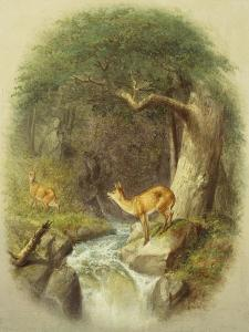 A Cautious Crossing by William Holbrook Beard