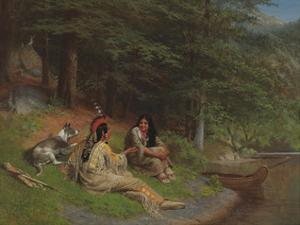 Indian Idyl by William Holbrook Beard