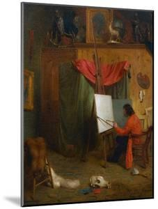 Self Portrait in the Studio by William Holbrook Beard