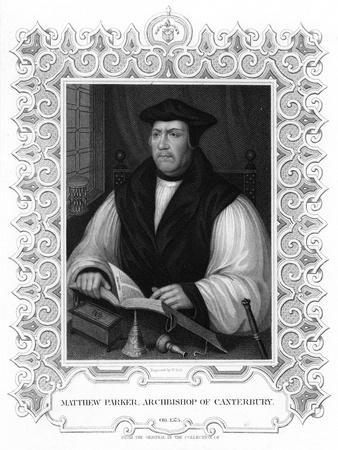 Matthew Parker, English Prelate, 19th Century