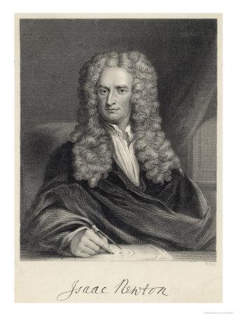 Sir Isaac Newton Mathematician Physicist Occultist