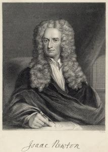 Sir Isaac Newton Mathematician Physicist Occultist by William Holl the Younger