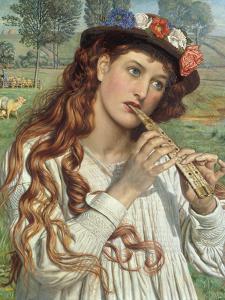Amaryllis' or 'The Shepherdess', c.1884 by William Holman Hunt
