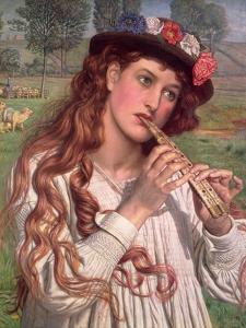 Amaryllis by William Holman Hunt