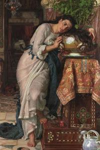 Isabella and the Pot of Basil, 1868 by William Holman Hunt