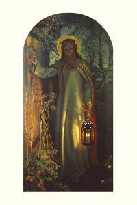 Light of the World by William Holman Hunt