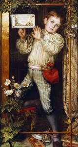 Master Hilary-The Tracer, 1886 by William Holman Hunt