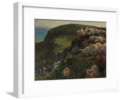 Our English Coasts, 1852 ('Strayed Sheep')
