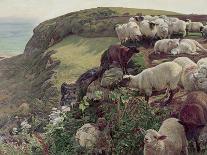 Light of the World, C.1851-53-William Holman Hunt-Premier Image Canvas