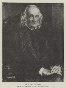 Sir Richard Owen by William Holman Hunt