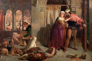 The Eve of St Agnes, 1848 by William Holman Hunt