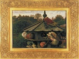 The Festival of St. Swithin or the Dovecote, 1866-75 by William Holman Hunt