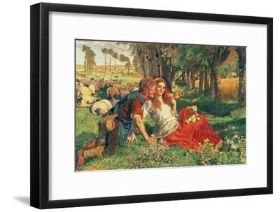 The Hireling Shepherd, 1851