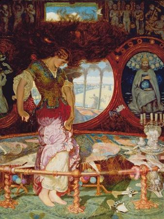 The Lady of Shalott, C.1886-1905