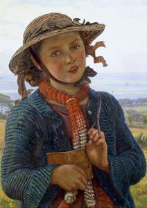 The School-Girl's Hymn, 1859 by William Holman Hunt