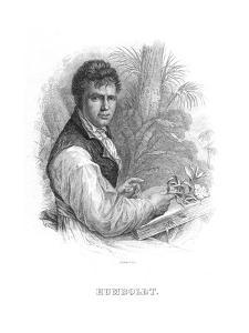 Alexander Von Humboldt, German Naturalist, C1830 by William Home Lizars