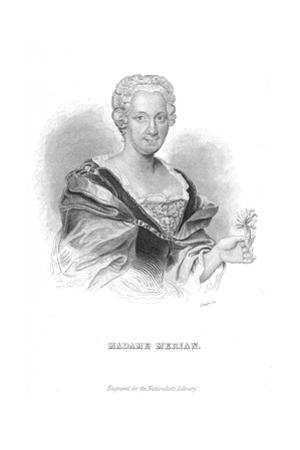Maria Sibylla Merian, German Naturalist and Flower Painter by William Home Lizars