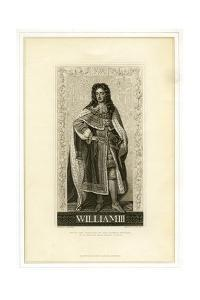 William III, King of England, Scotland and Ireland by William Home Lizars