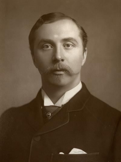William Hunter Kendal, British Actor and Theatre Manager, 1884--Photographic Print