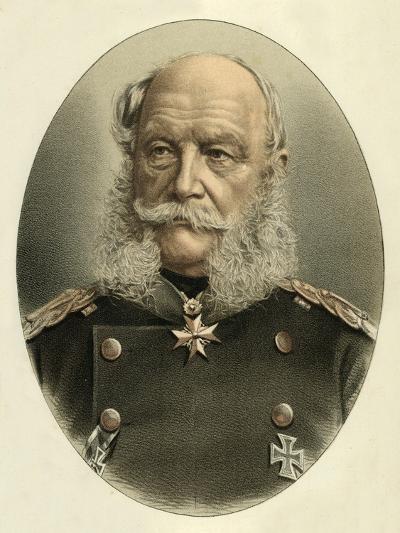 William I, Emperor of Germany-English School-Giclee Print
