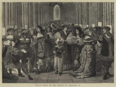 Paul's Walk in the Reign of Charles II