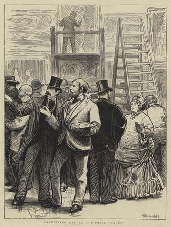 Varnishing Day at the Royal Academy