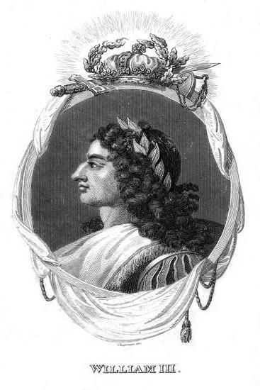William III, King of England, Scotland and Ireland-I Chapman-Giclee Print