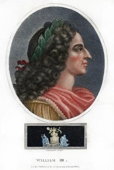 William III, King of England, Scotland and Ireland-J Chapman-Giclee Print