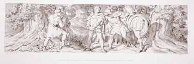 William, in His Hunting Ground at Rouen, Receives Intelligence from Tostig of Harold's…-Daniel Maclise-Giclee Print