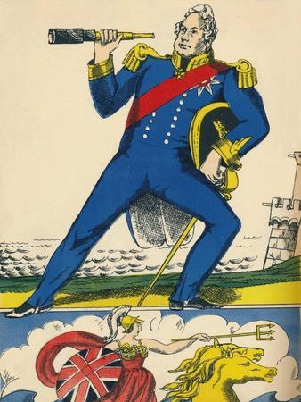 William IV, King of Great Britain and Ireland from 1830, (1932)-Rosalind Thornycroft-Giclee Print