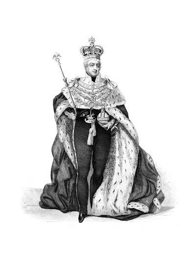 William IV, King of the United Kingdom, 1837--Giclee Print