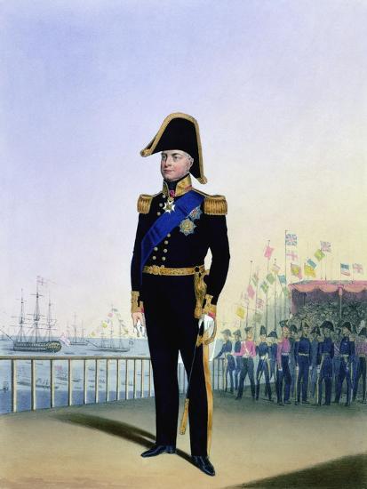 William IV, King of the United Kingdom, c1830-1837-L Mansion-Giclee Print