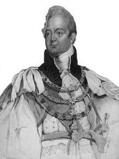 William IV of the United Kingdom, 19th Century--Giclee Print