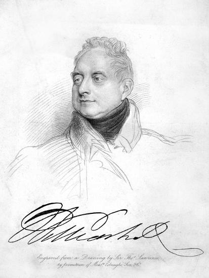 William IV of the United Kingdom, 19th Century-Thomas Lawrence-Giclee Print