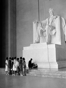 Paying Homage to Lincoln by William J^ Smith