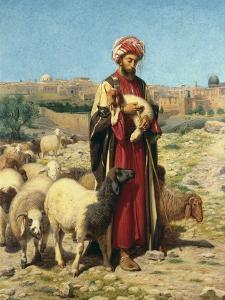 A Shepherd of Jerusalem by William J. Webbe