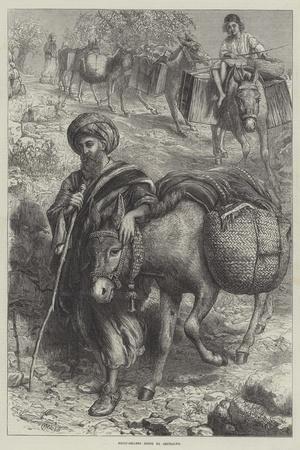 Fruit-Sellers Going to Jerusalem