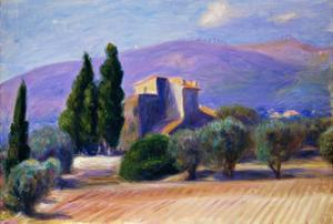 Farm House in Provence by William James Glackens