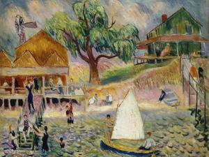 The Green Beach Cottage, Bellport, Long Island, C.1911-1916 by William James Glackens