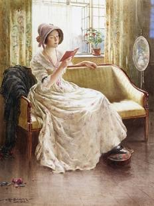 A Quiet Read by William Kay Blacklock