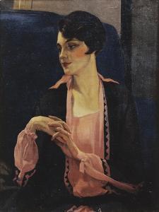 Portrait of a Woman, Half Length, 1905 by William Kay Blacklock