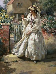 The Morning Walk by William Kay Blacklock